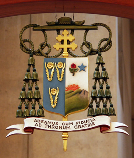 Coat of Arms, Archbishop Jose Gomez